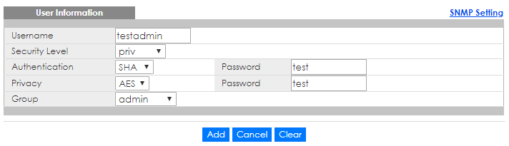How to set up basic SNMP configuration on Zyxel Switches